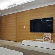 简单朴实电视墙设计