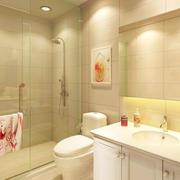 色调温和的卫生间设计