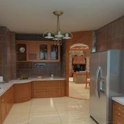 20平米欧式厨房样板间