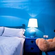 小型一居室之蓝色墙面
