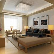 30平米日式客厅现代化设计