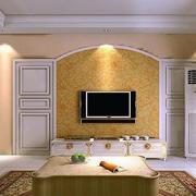 高档欧式客厅背景设计