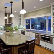 厨房吊顶灯饰设计
