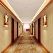 高贵典雅宾馆走廊