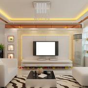 精美温馨的电视背景墙