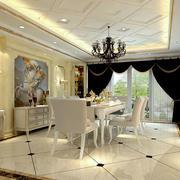 白色餐厅 装修设计