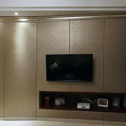 纹理气质电视墙装修