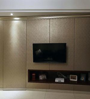大户型隐形门电视背景墙装修效果图大全
