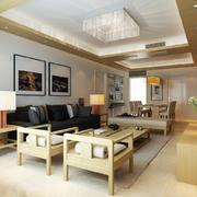 30平米日式经典客厅设计