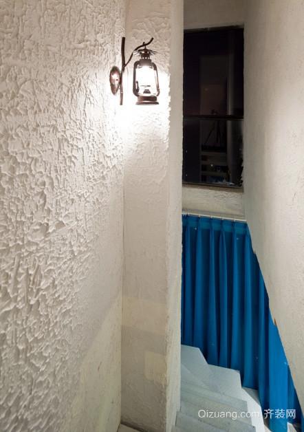 2016全新地中海式1居室小户型家装设计效果图