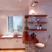 白色小空间厨房设计规划