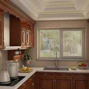 厨房悬空壁挂式橱柜设计