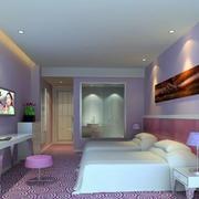 清新亮丽粉色系房间