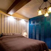 小型一居室之美式吊灯展示