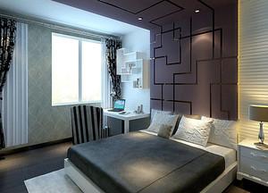 三室一厅都市风格卧室装修效果图设计