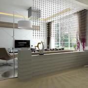 精装工业风格别墅客厅设计