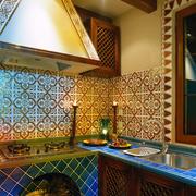 欧式厨房之台面效果图