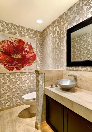 单身公寓欧式风格卫生间装修效果图