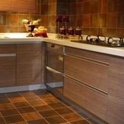 欧式厨房橱柜一体化设计