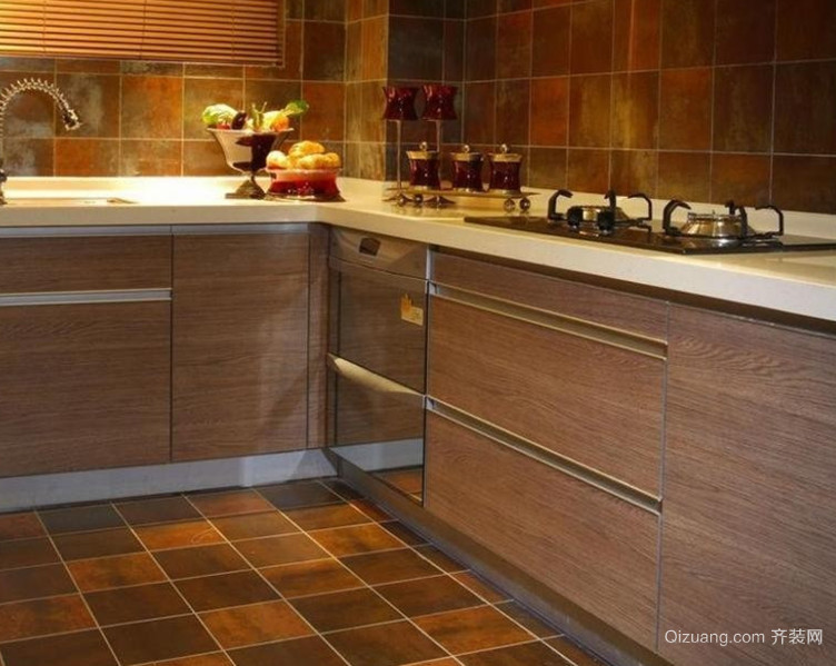 欧式新浪潮:20平厨房创新风格装修效果图