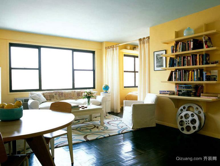 经典再现:50平米一居室小户型装修效果图