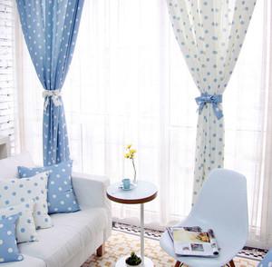 现代风情:别墅大气风格窗帘效果图