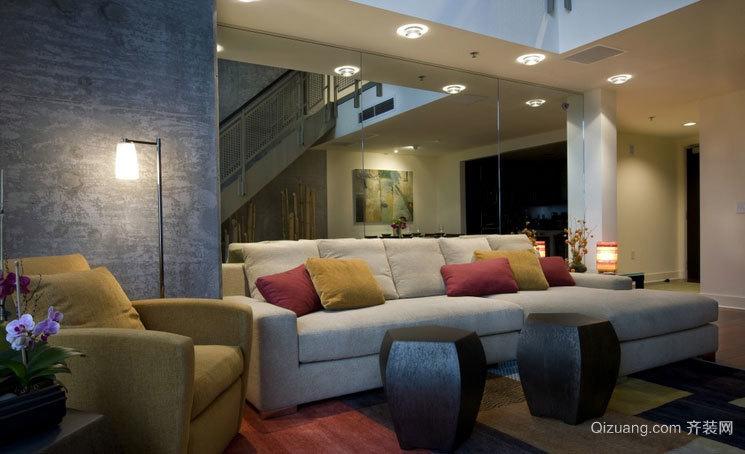 200平米简欧风格客厅装修效果图欣赏