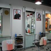 美发店镜子图片