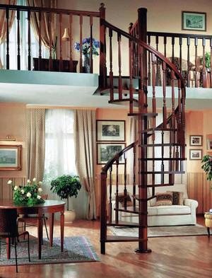 深色调楼梯装修