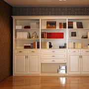 层次分明的书柜图片