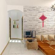 日式客厅玄关设计