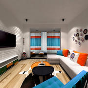50平米小型客厅设计
