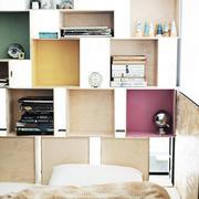小型loft公寓简约风暗格收纳设计
