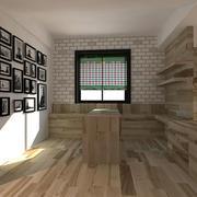 简约系客厅地面设计