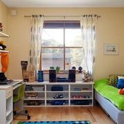 暖色调儿童房图片