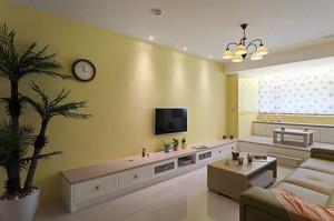 家居黄色客厅设计