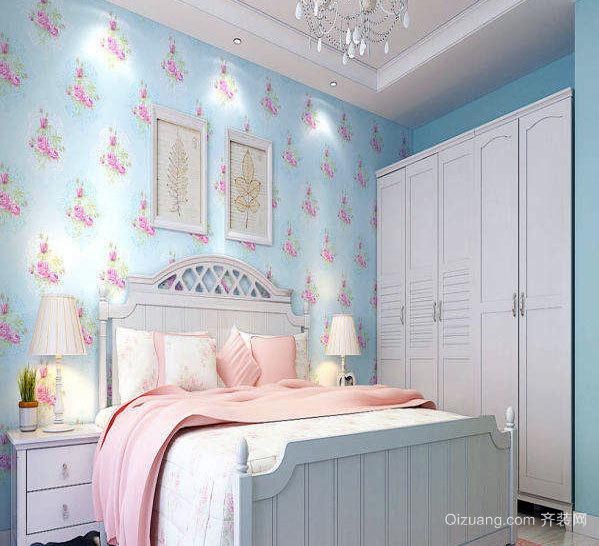 140平米粉色系现代简约风格婚房装修效果图