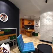 50平米小型家装工作室设计