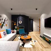 50平米小型家装电视墙设计