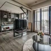 一居室户型设计之电视墙