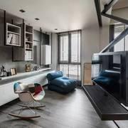 一居室户型设计之玻璃门