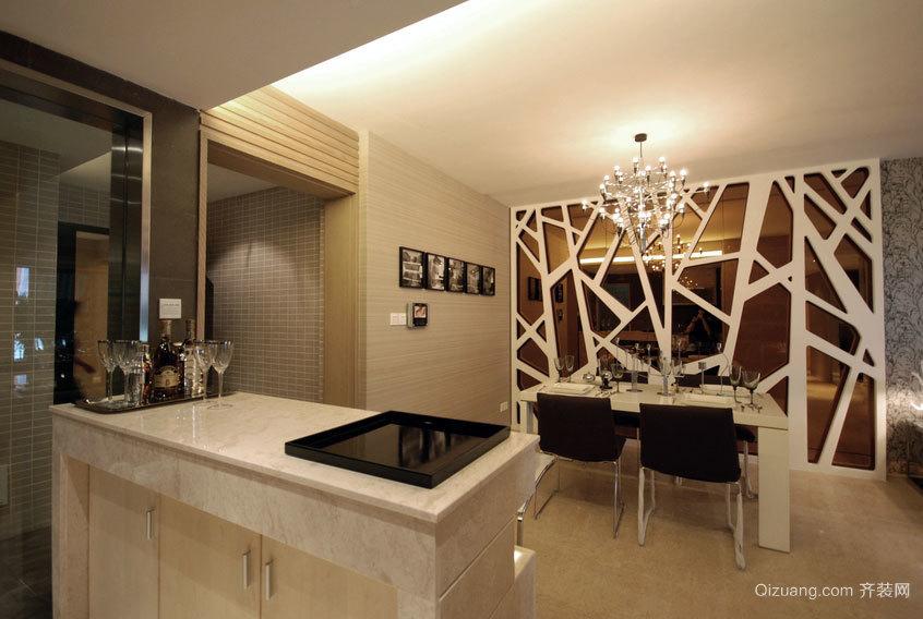 提高生活品质的家居吧台装修设计效果图