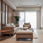 日式客厅飘窗装修