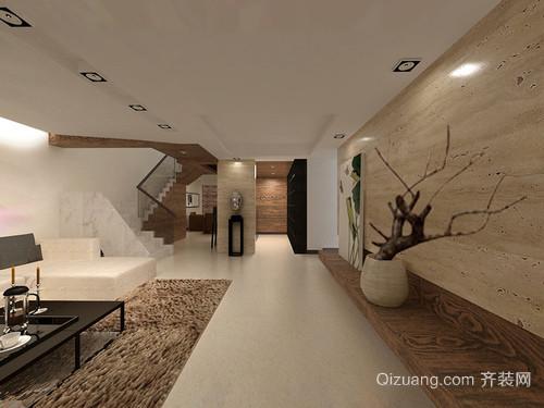 30㎡小公寓简约有型装修效果图