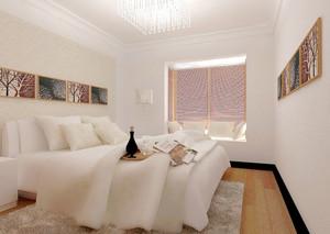 精致小窝:复式楼自然风格卧室装修效果图