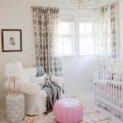 简约型粉色女生卧室沙发