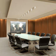 会议室装修桌椅图片