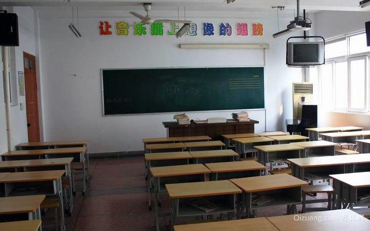 150平米精装小学一年级教室布置效果图