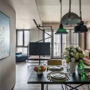 一居室户型之客厅吊灯设计