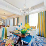 黄白相间的30平小型卧室